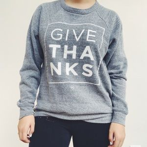 Sweaters - Give Thanks Thanksgiving Sweatshirt